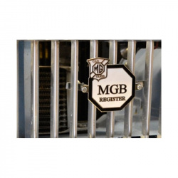 MGB Register Grille Badge